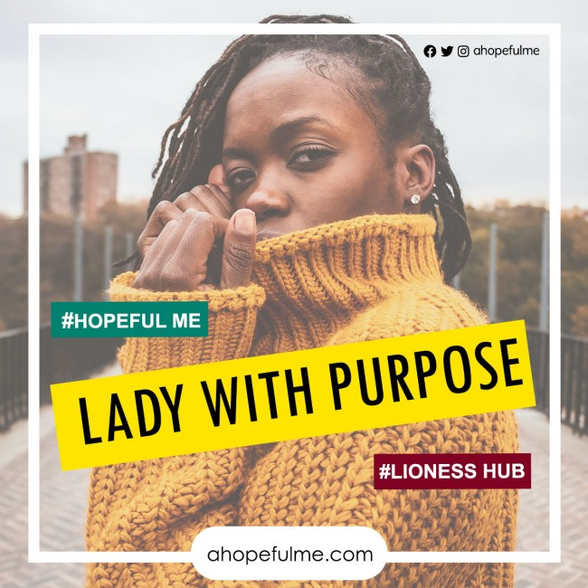 Lady With Purpose