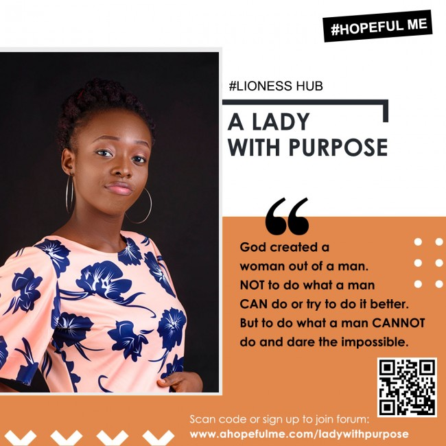 Lady With Purpose Forum