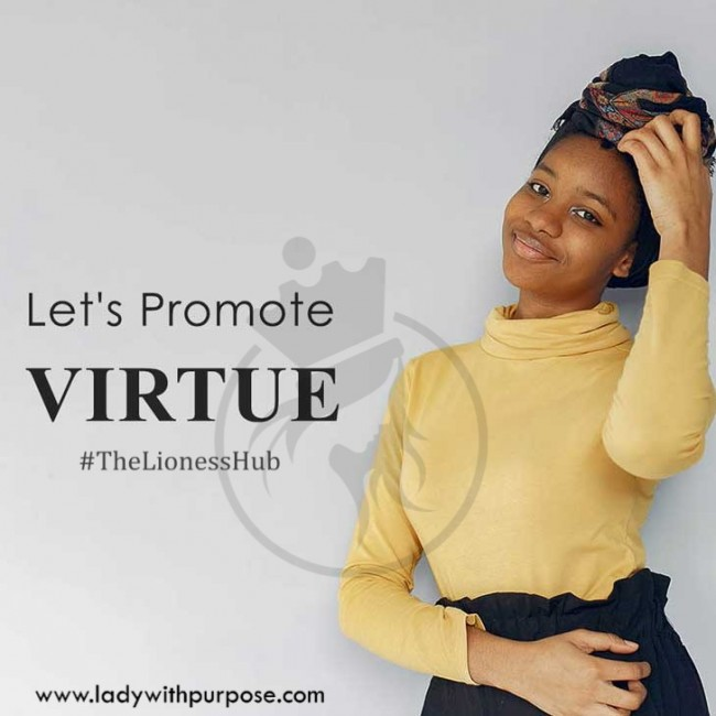 Promote virtue